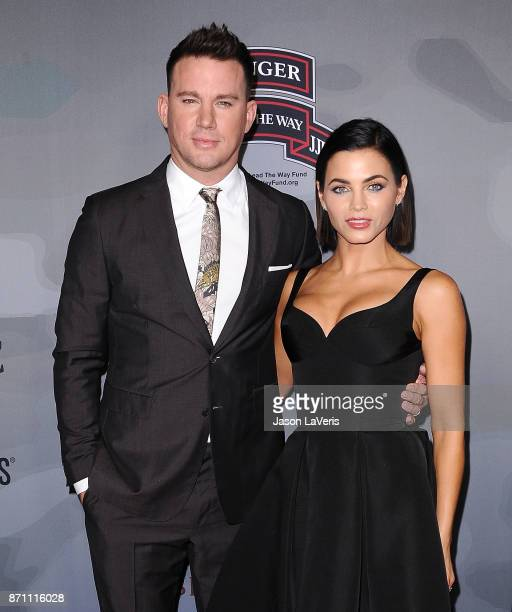 "Channing Tatum and Jenna Dewan Tatum attend the premiere of ""War Dog: A Soldier's Best Friend"" at Directors Guild Of America on November 6, 2017 in..."