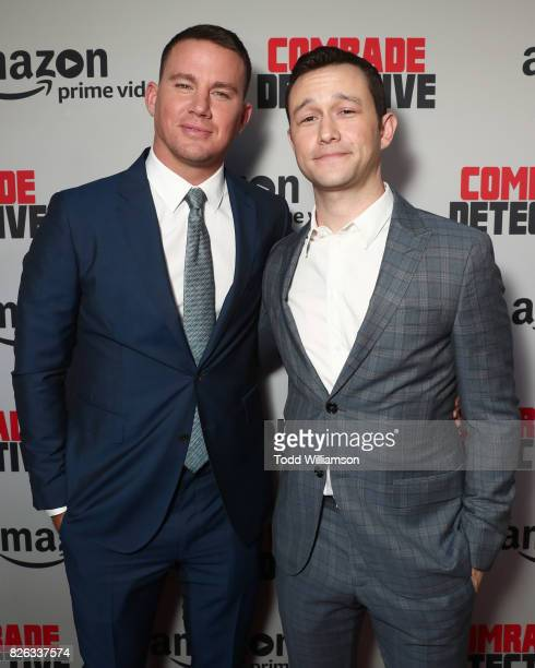 """Channing Tatum and Joseph Gordon-Levitt attend the Amazon Prime Video Premiere Of Original Comedy Series """"Comrade Detective"""" In Los Angeles on August..."""