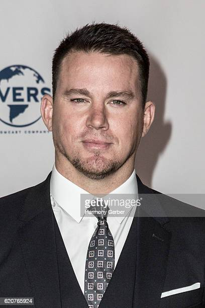 Channing Tatum arrives at the 22nd Fulfillment Fund Stars Benefit Gala at The Globe Theatre at Universal Studios on November 2 2016 in Universal City...