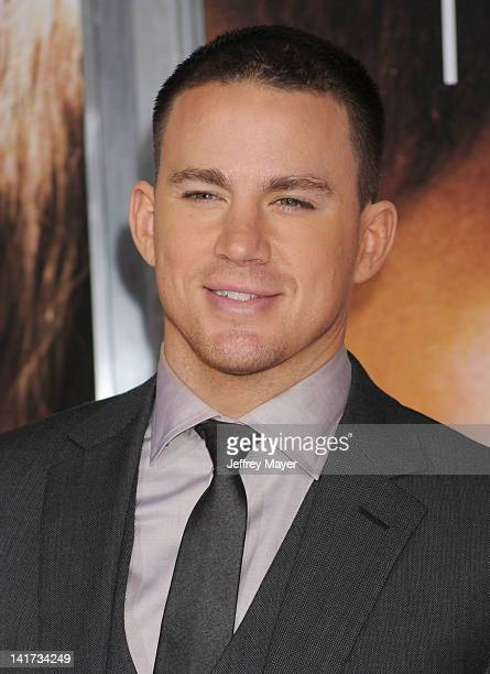 Channing Tatum arrives at The Vow Los Angeles Premiere at Grauman's Chinese Theatre on February 6 2012 in Hollywood California