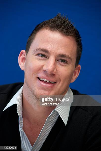 Channing Tatum at the '21 Jump Street' Photo Op on April 16 2012 in Cancun Quintana Roo Mexico