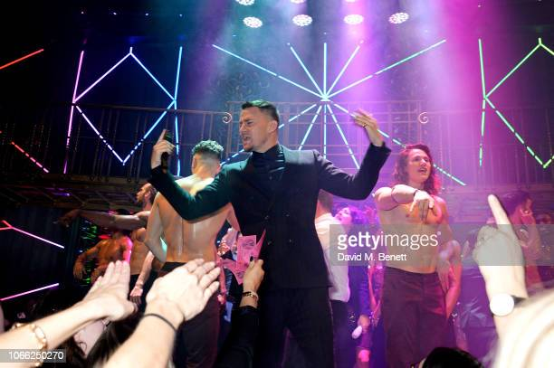 Channing Tatum at the Opening Night of Magic Mike Live at The Hippodrome on November 28 2018 in London England