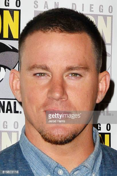 Channing Tatum attends ComicCon International 2017 Day 1 on July 20 2017 in San Diego California