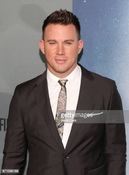 Channing Tatum attends HBO And Army Ranger Lead The Way Fund Present The Premiere Of War Dog A Soldier's Best Friend at Directors Guild Of America on...