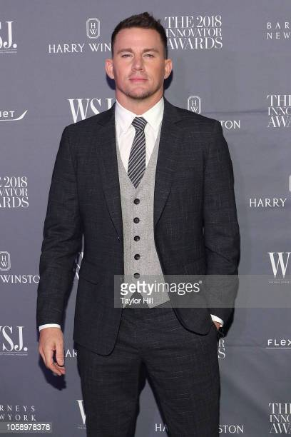 Channing Tatum attends the 2018 WSJ Magazine Innovator Awards at Museum of Modern Art on November 7 2018 in New York City