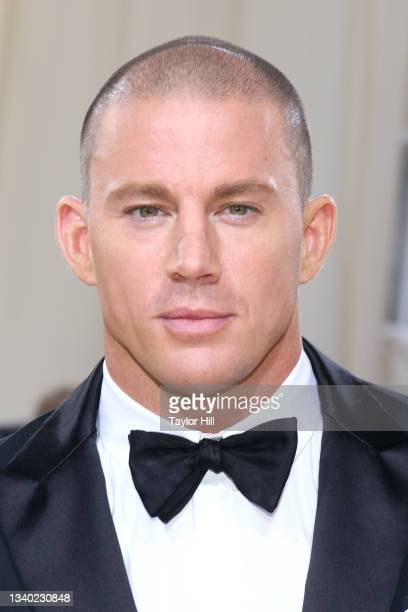 """Channing Tatum attends the 2021 Met Gala benefit """"In America: A Lexicon of Fashion"""" at Metropolitan Museum of Art on September 13, 2021 in New York..."""
