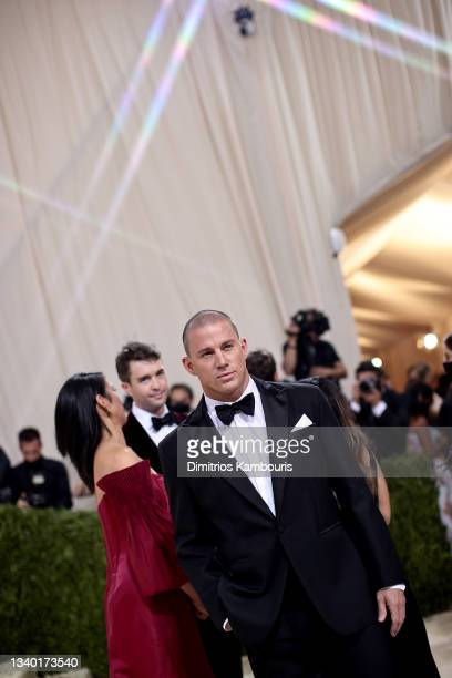 Channing Tatum attends The 2021 Met Gala Celebrating In America: A Lexicon Of Fashion at Metropolitan Museum of Art on September 13, 2021 in New York...