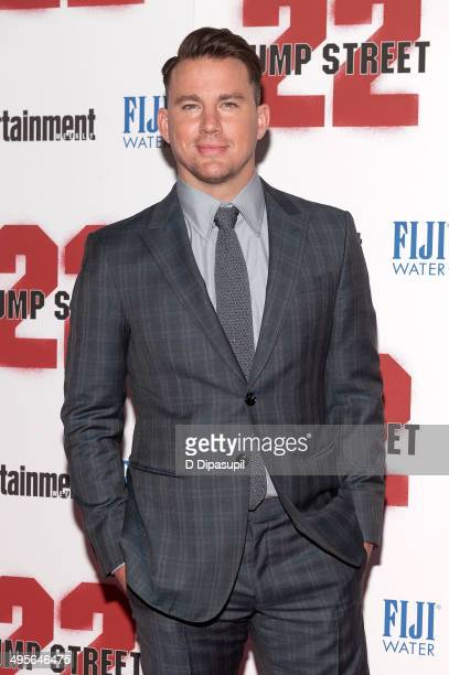 Channing Tatum attends the 22 Jump Street premiere at AMC Lincoln Square Theater on June 4 2014 in New York City