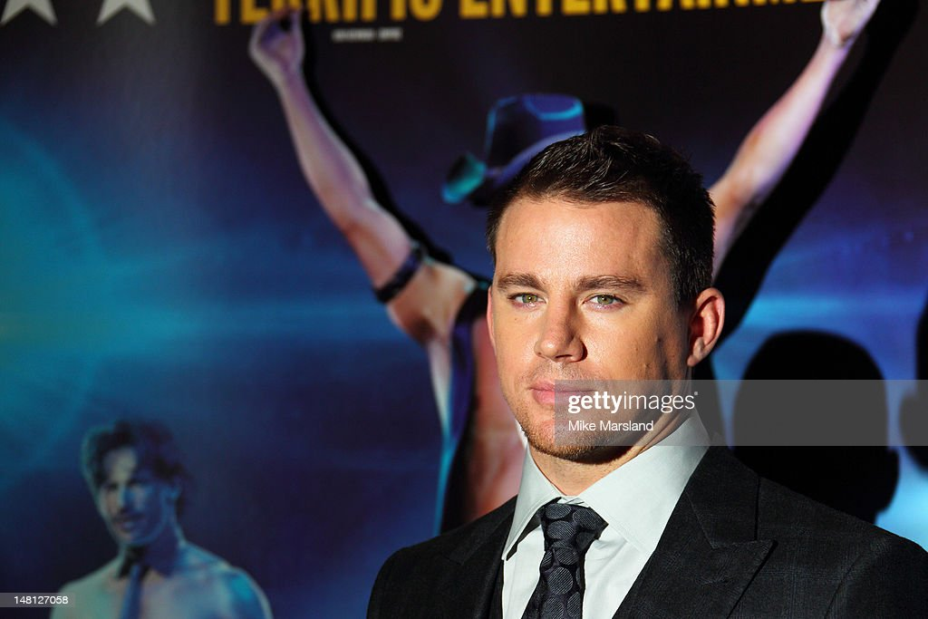 Channing Tatum attends the European premiere of 'Magic Mike' at The Mayfair Hotel on July 10, 2012 in London, England.