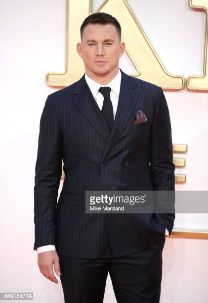 Channing Tatum attends the 'Kingsman The Golden Circle' World Premiere held at Odeon Leicester Square on September 18 2017 in London England