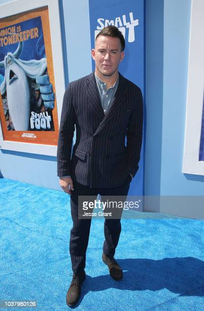 Channing Tatum attends the premiere of Warner Bros Pictures' Smallfoot at the Regency Village Theatre on September 22 2018 in Westwood California