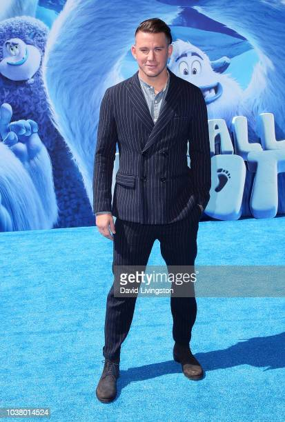 Channing Tatum attends the premiere of Warner Bros Pictures' Smallfoot at Regency Village Theatre on September 22 2018 in Westwood California