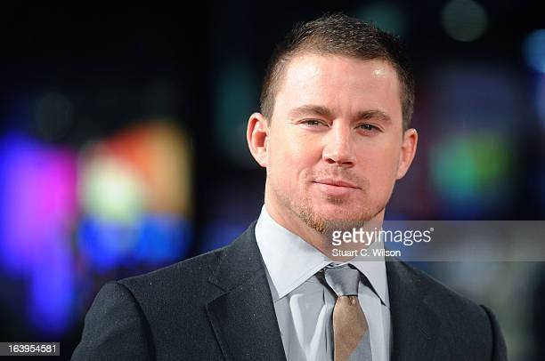 Channing Tatum attends the UK Premiere of GI Joe Retaliation at Empire Leicester Square on March 18 2013 in London England