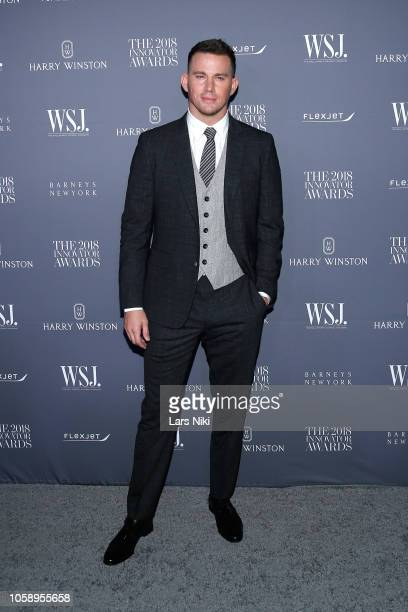 Channing Tatum attends WSJ Magazine 2018 Innovator Awards Sponsored By Harry Winston FlexJet Barneys New York Arrivals at MOMA on November 7 2018 in...