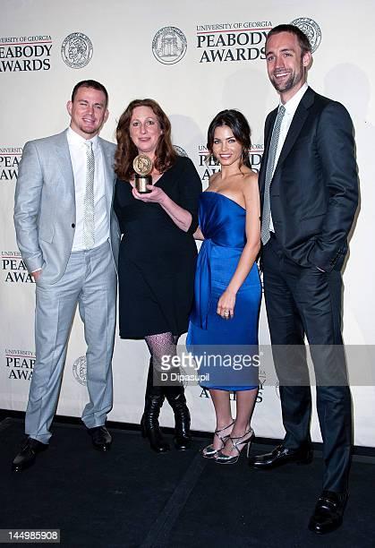 Channing Tatum Deborah Scranton Jenna DewanTatum and Reid Carolin attend the 71st Annual Peabody Awards on May 21 2012 in New York United States