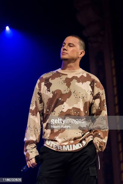 Channing Tatum during a media call on December 3, 2019 in Melbourne, Australia.