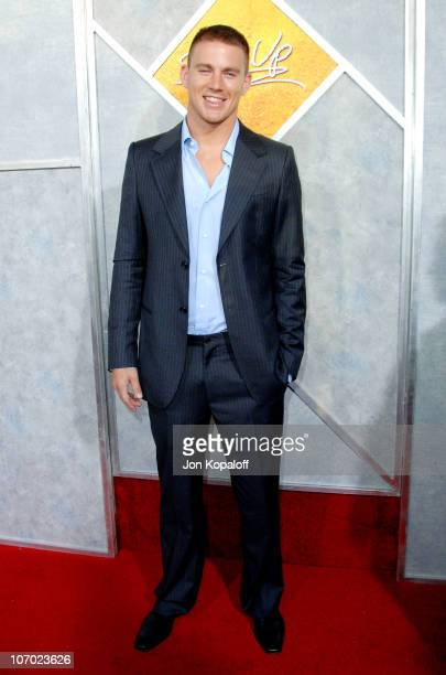 Channing Tatum during 'Step Up' Los Angeles Premiere Arrivals at ArcLight Theater in Hollywood California United States