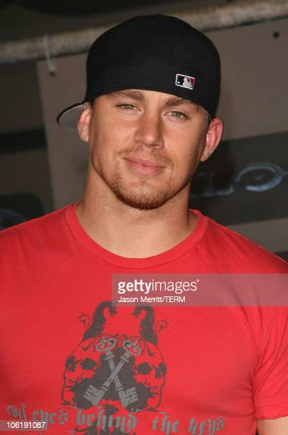 Channing Tatum during Xbox 360 Halo 3 Sneak Preview Arrivals at Quixote Studios in Hollywood California United States