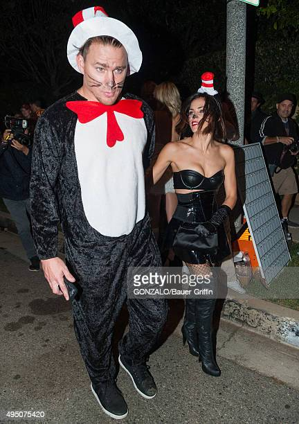Channing Tatum is seen attending Casamigos Tequila Halloween Party on October 30 2015 in Los Angeles California