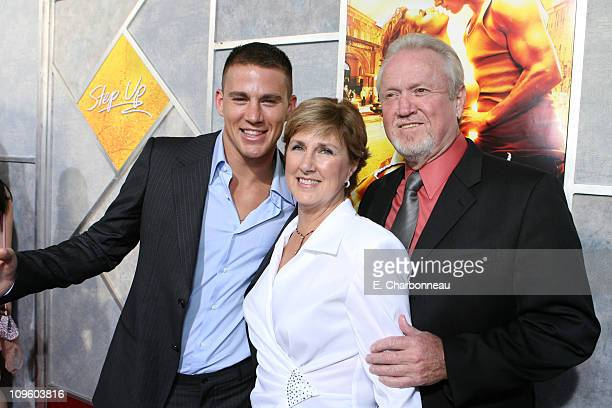 Channing Tatum Kay Tatum and Glenn Tatum during The Los Angeles Premiere of Touchstone Pictures and Summit Entertainment's Step Up at Archlight in...