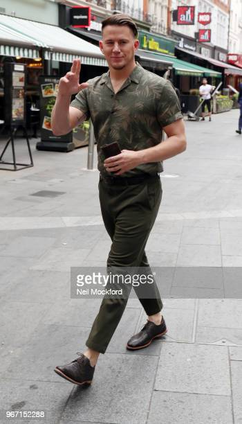 Channing Tatum seen leaving Capital Radio Studios on June 4 2018 in London England