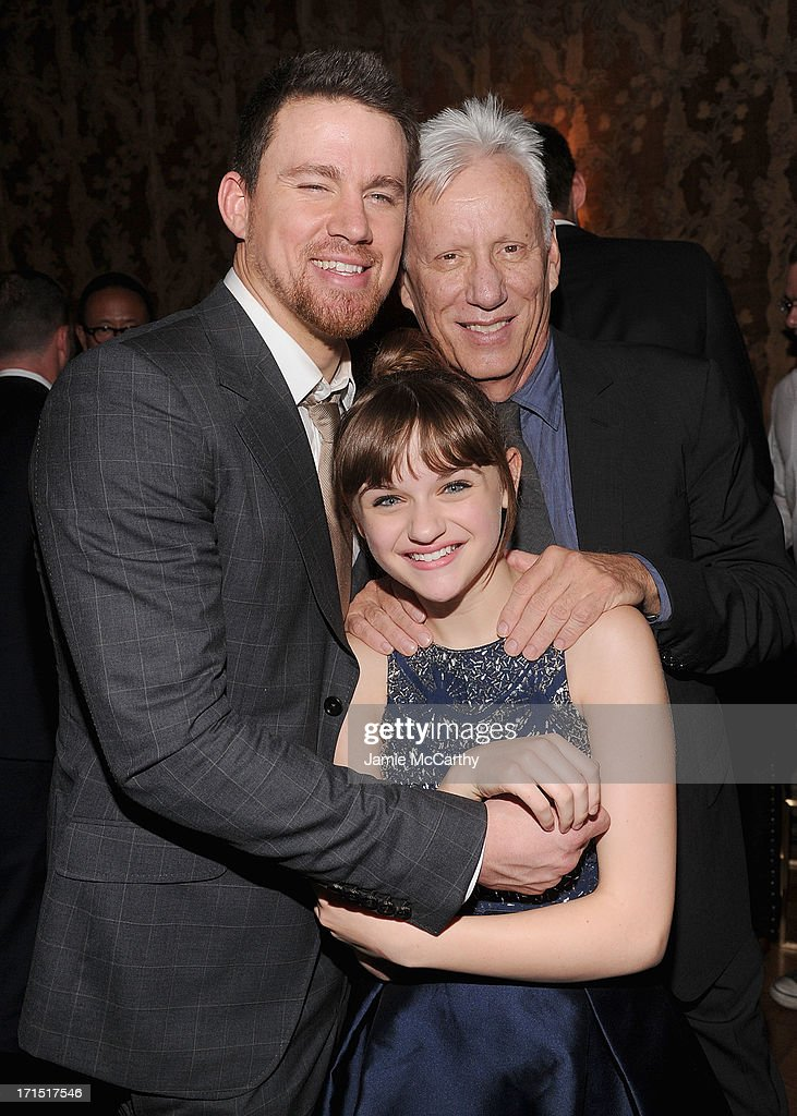 Channing Tatum,Joey King and James Woods attend 'White House Down' New York Premiere at on June 25, 2013 in New York City.