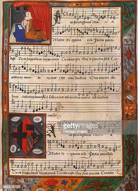 Chansonnier of Margaret of Austria , Between 1516 and 1523. Found in the collection of the Royal Library of Belgium, Brussels.