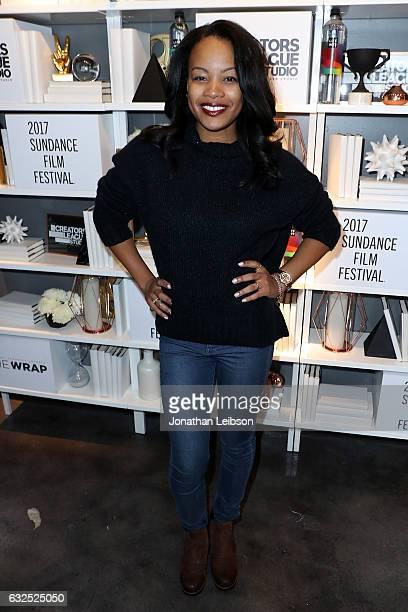 Chant Adams attends the Creators League Studio At 2017 Sundance Film  Festival Day 5 at PepsiCo s 8e4f083e1165