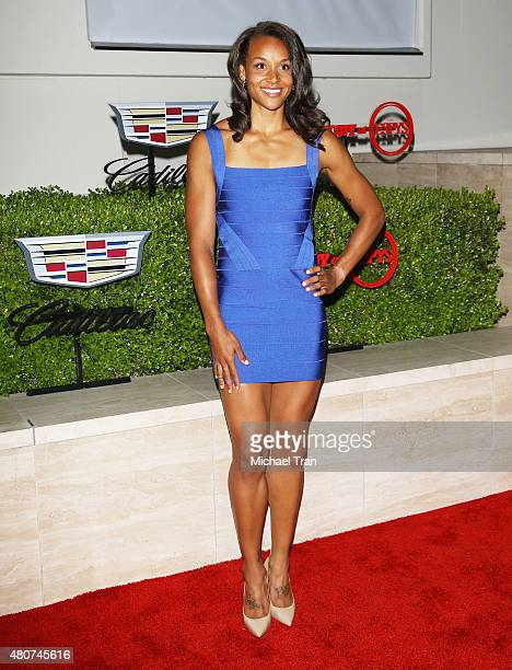 Chantae McMillan arrives at the BODY at ESPYS PreParty held at Milk Studios on July 14 2015 in Los Angeles California