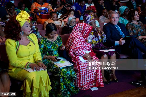 Chantal Biya of Cameroon Hinda Deby Itno of Chad Hadidja Abubajar Ikililou Dhoinine of Comoros Constancia Mangue De Obiang of Equatorial Guinea...