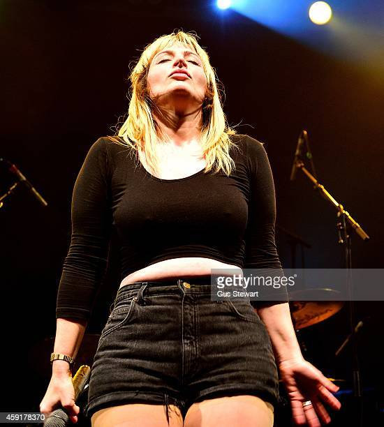 Chantal Claret performs on stage at KOKO on November 10 2014 in London United Kingdom