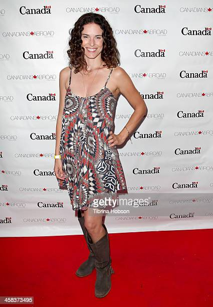 Chantal Cousineau attends the Canada Day Celebration 2016 at Wokano Restaurant on July 1 2016 in Santa Monica California