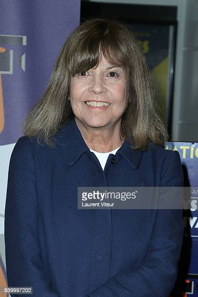 Chantal Goya attends the projection of 'Masculin Feminin' during 5th Champs Elysees Film Festival at Cinema Lincoln on June 13 2016 in Paris France