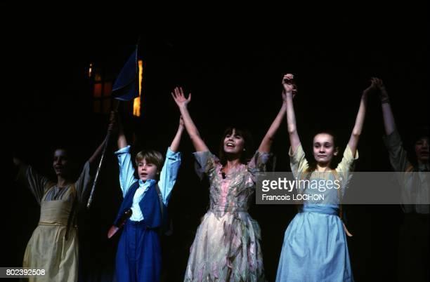 Chantal Goya en concert au Palais des Congrès le 21 novembre 1986 à Paris France
