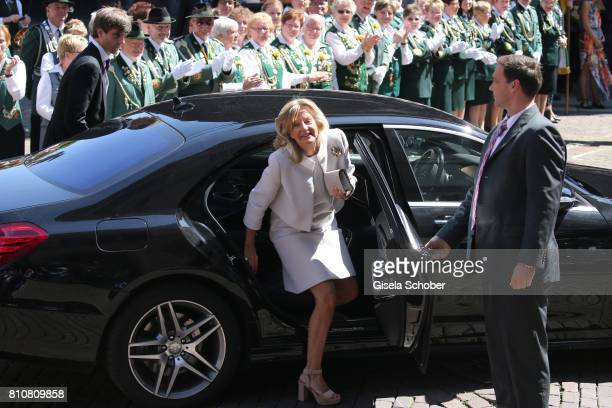 Chantal Hochuli mother of Ernst August jr of Hanover former of Hanover during the wedding of Prince Ernst August of Hanover jr Duke of...