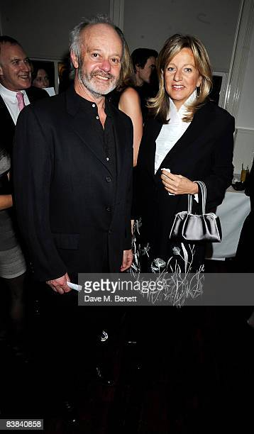 Chantal Hochuli of Hannover and director Michael Radford attend the cocktail reception ahead of the UK film premiere of 'Flawless' in aid of Clic...