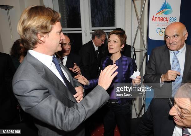 Chantal JOUANNO / Charles Beigbeder - - Fondation du groupement d'interet public - Nomination de Charles Beigbeder comme president du Comite de...
