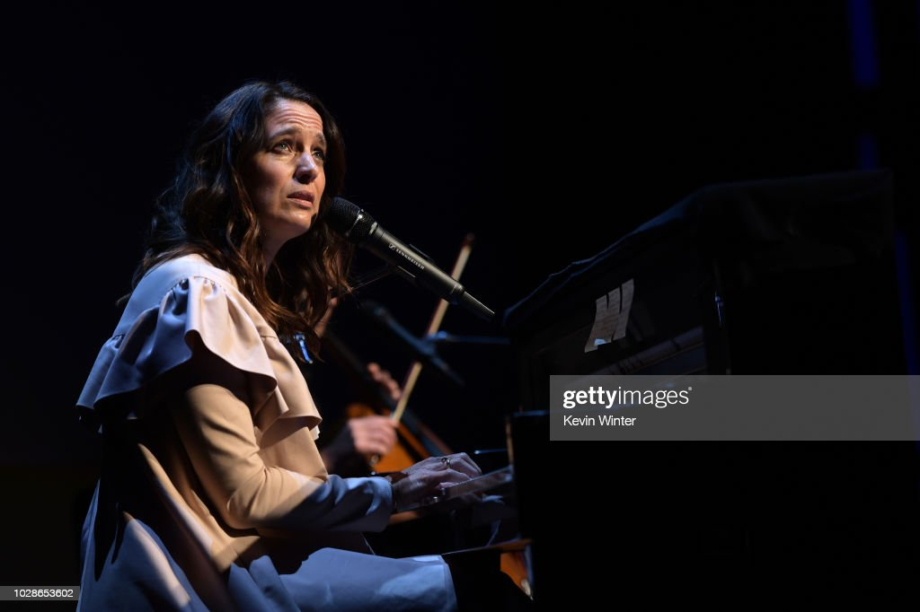 Chantal Kreviazuk performs during the 'Sharkwater Extinction' premiere during the 2018 Toronto International Film Festival at Roy Thomson Hall on September 7, 2018 in Toronto, Canada.