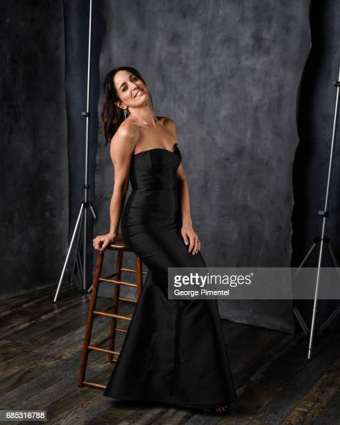 Chantal Kreviazuk poses at the 2017 Juno Awards Portrait Studio at the Canadian Tire Centre on April 1 2017 in Ottawa Canada