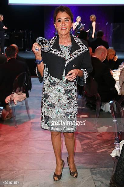 Chantal Montanarella attends The Children For Peace Gala on November 28 2015 at Spazio Novecento in Rome Italy