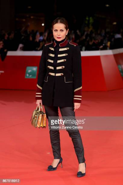 Chantal Sciuto walks a red carpet for 'Stronger' during the 12th Rome Film Fest at Auditorium Parco Della Musica on October 28 2017 in Rome Italy