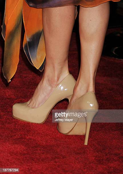 Chantal Sutherland at the Los Angeles Premiere of HBO's 'LUCK' at Grauman's Chinese Theatre on January 25 2012 in Hollywood California