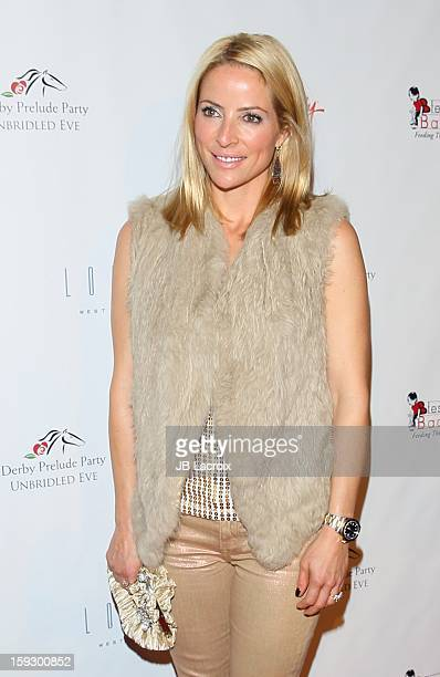 Chantal Sutherland attends the Los Angeles Unbridled Eve Derby Prelude Party at The London Hotel on January 10 2013 in West Hollywood California