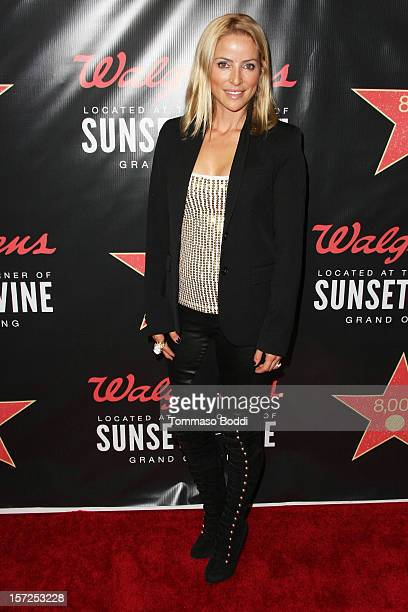 Chantal Sutherland attends the opening night of Walgreens' new flagship store in Los Angeles on November 30 2012 in Hollywood California