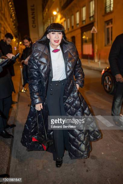 Chantal Thomas arrives at Sidaction Gala Dinner 2020 At Pavillon Cambon on January 23 2020 in Paris France