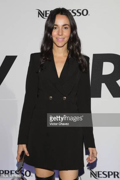 Chantal Torres attends the Nespresso Vertuo launch on September 26 2018 at Piacere in Mexico City Mexico