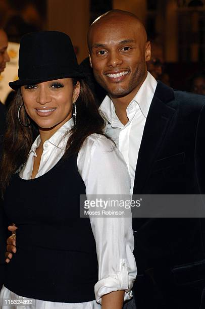 Chante Moore and Kenny Lattimore during 22nd Annual Stellar Gospel Music Awards Nominee Reception at Gaylord Opryland Resort and Convention Center in...