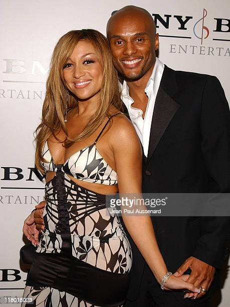Chante Moore and Kenny Lattimore during Sony/BMG Music Entertainment 2005 After GRAMMY Awards Party Arrivals at Hollywood Roosevelt Hotel in...
