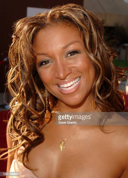 Chante Moore during 10th Annual Soul Train Lady of Soul Awards Arrivals at Pasadena Civic Auditorium in Pasadena California United States