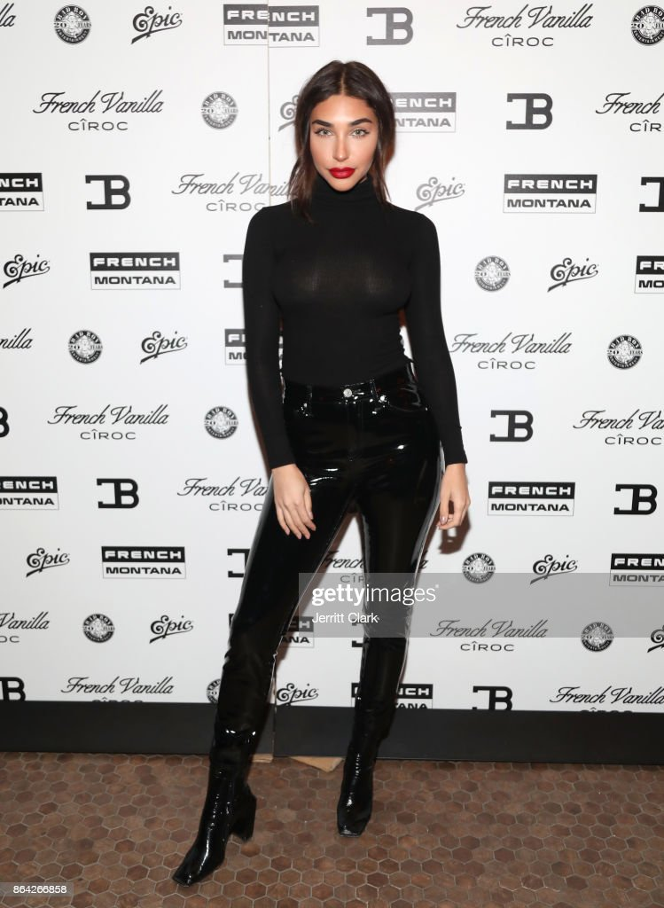 Chantel Jeffries attends Ciroc & Epic Records present French Montana 'Jungle Rules' Gold Dinner at Poppy on October 20, 2017 in Los Angeles, California.